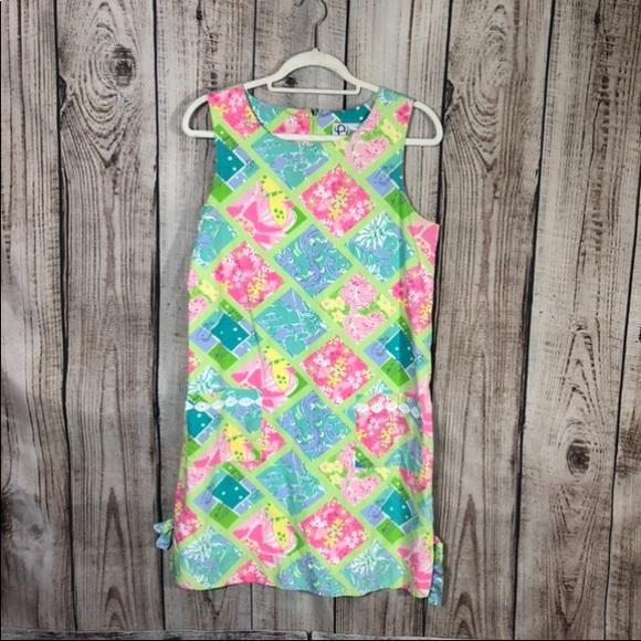 VTG Lilly Pulitzer Summer Floral Pocket Dress
